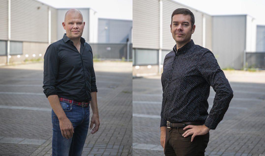 Ronald van Aggelen en Paul Bos (Root) / Fotografie: Marieke Wijntjes / 2020