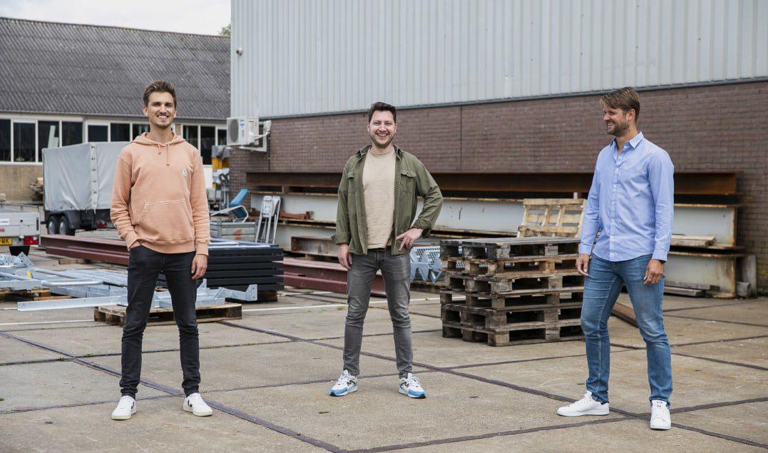 Steffan van Leenen (Van Wijnen), Tom Terpstra (Root) en Ruben Trouborst (Van Wijnen) / Fotografie: Marieke Wijntjes / 2020