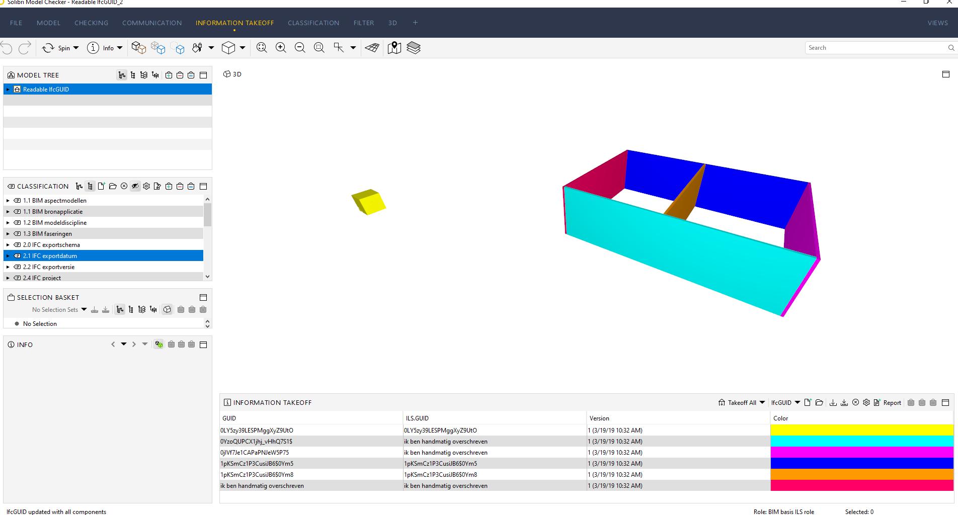Solibri Model Checker / handmatig meerdere overschreven