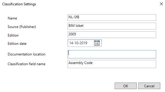 Exporteren naar ifc 5b 2021
