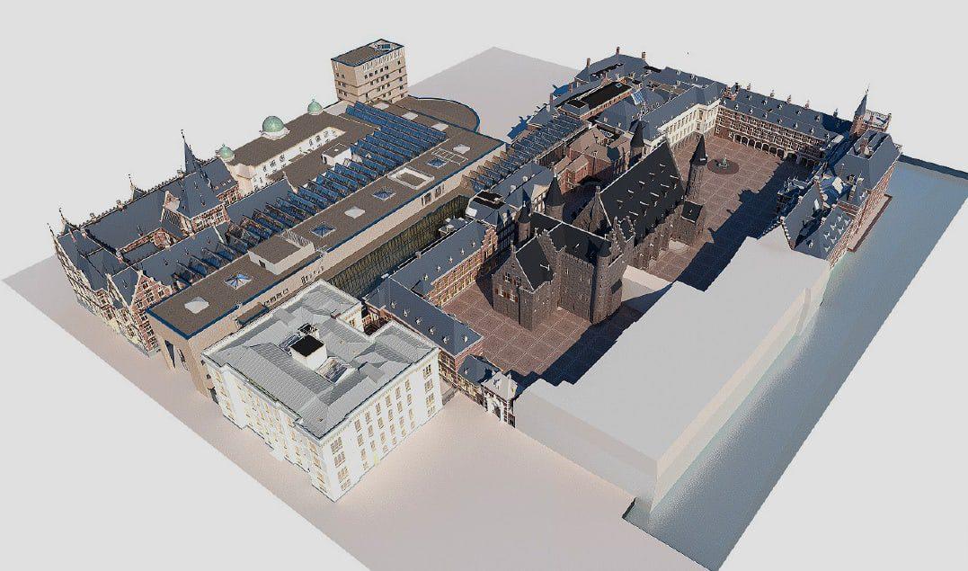 BIM-model / Binnenhof / 2017